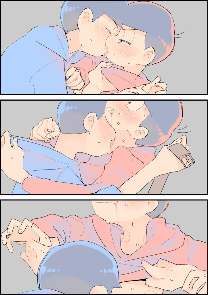 【カラおそ漫画】『やだやだやだやだ』(6つ子)