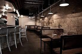 Resultado de imagen para restaurant industrial rustic decor