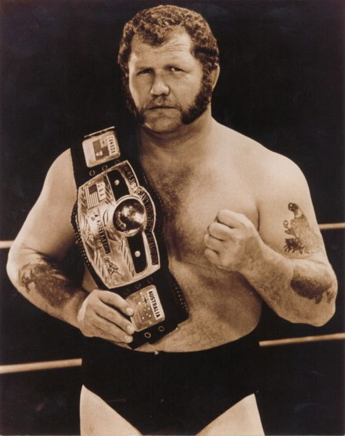 One of the toughest dudes in pro wrestling history -- Harley Race