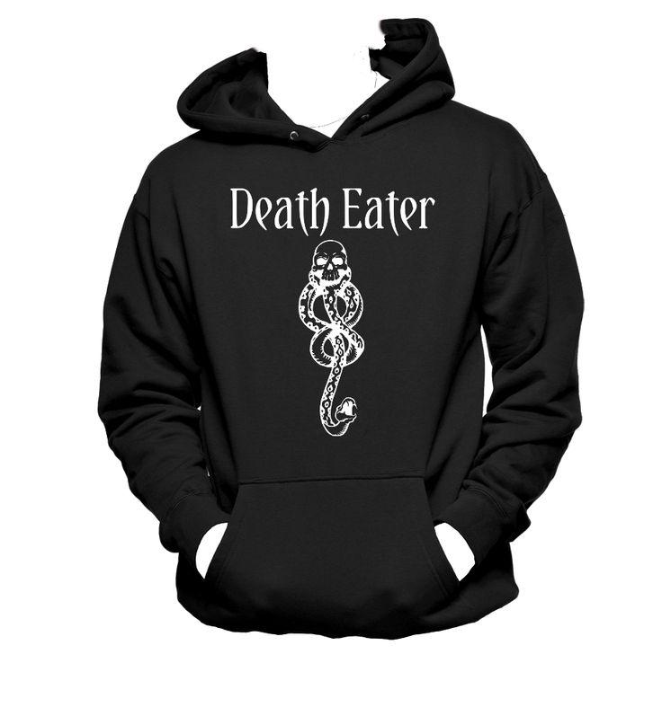 Death Eater Mark Hoodie Unisex,Voldemort Hoodie,Harry Potte,Snape,Nerd Girl Tees,Geek Chic,T-Shirt,Best Gift,Typography,pop culture
