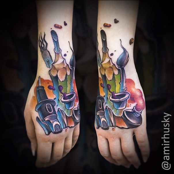 Guinness Toucan Mascot Tattoo: 606 Best Images About New School On Pinterest