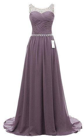 eudolah damen abendkleider elegant ballkleider lang maxi bunte kleider grau gr14  elegante