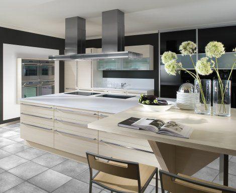 Moderní designová kuchyně Cora. Kuchyně a spotřebiče jedné značky - gorenje. #kuchyně #design #interiér #domov #gorenje