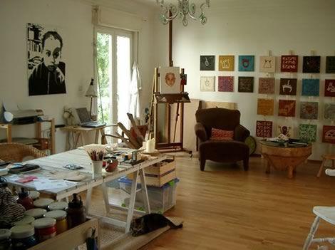 Home Office/Art Studio Inspiration Part 77