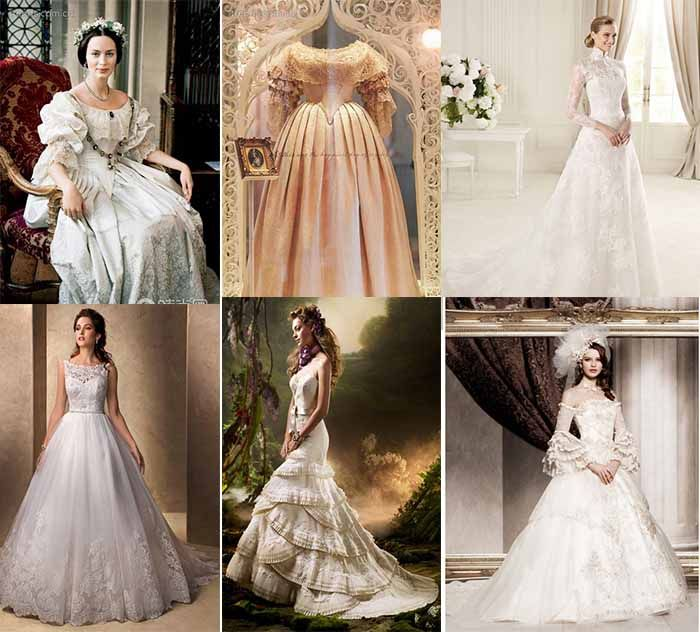 Victorian Wedding Gowns
