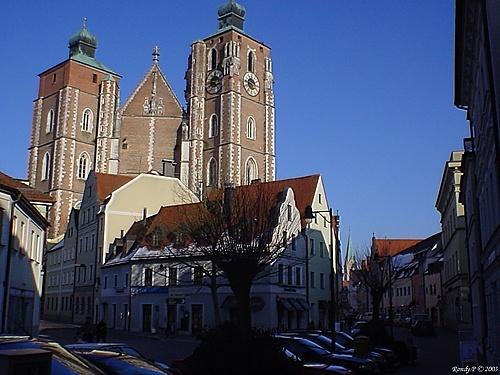 Muenster Cathedral, Ingolstadt, Bavaria, Germany