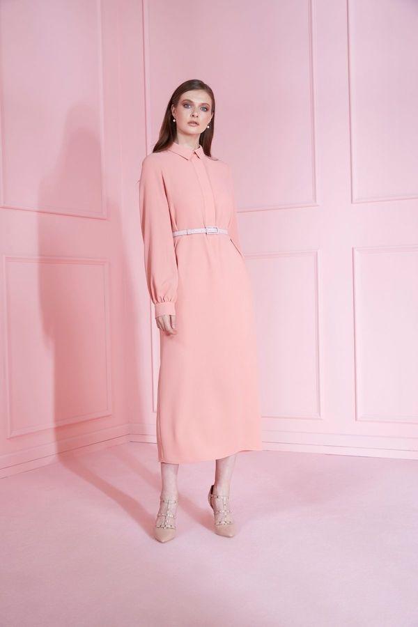 Mimya Midi Boy Kalem Elbise 2020 Elbise The Dress Kalem Elbise