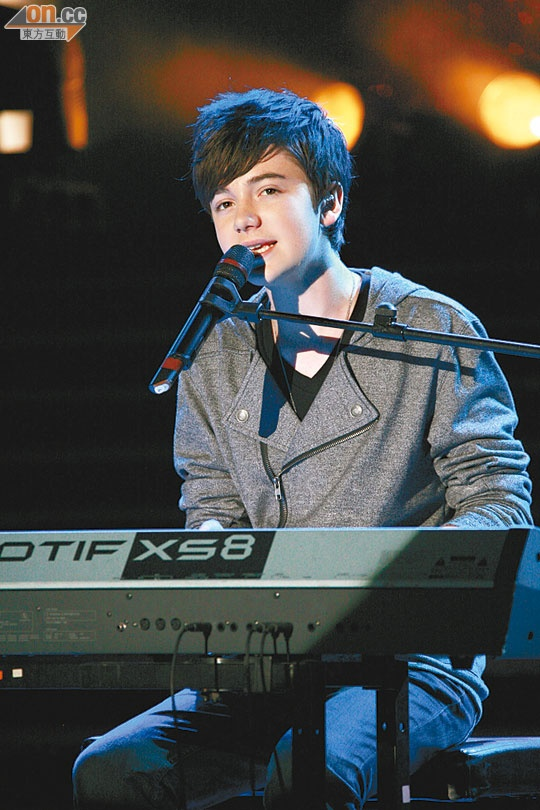 Instead of love is all I need it should be called Greyson Chance is all I need!!!!!!! What a cutie
