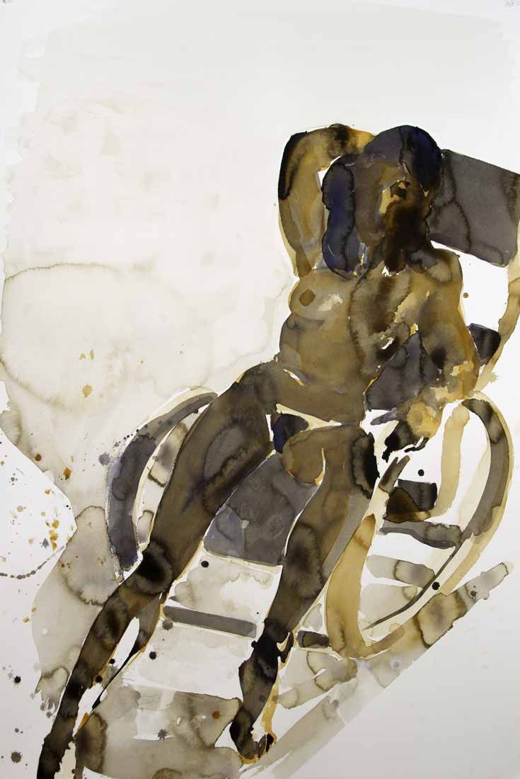 Watercolor books for sale - Available For Sale From Hexton Gallery Eric Fischl Untitled Watercolor On Paper 60 40 In