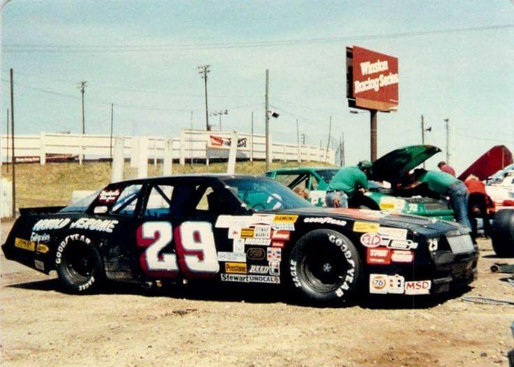 Bob keselowski 1988 arca racing old race cars stock