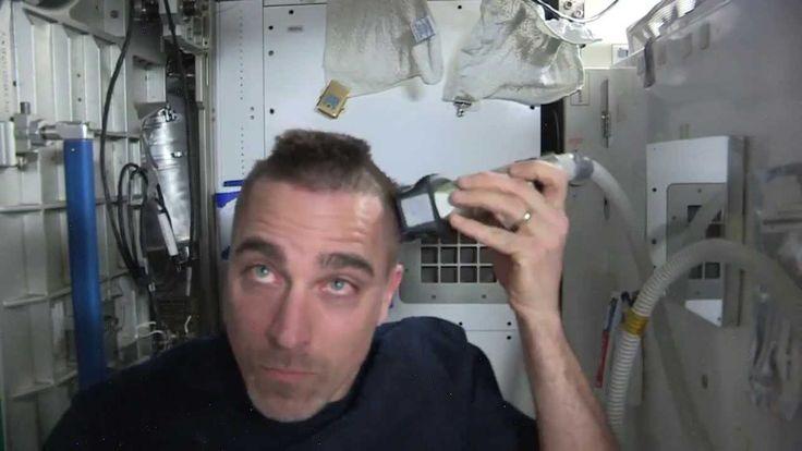 """Close Shave"" for Astronaut Chris Cassidy"