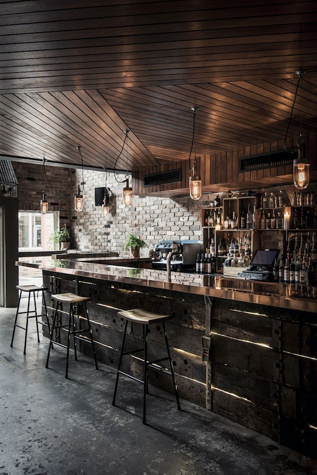 Donny\'s Bar Interior Design | // Places // | Pinterest | Bar ...