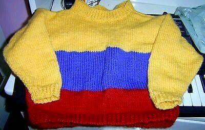 Chandail drapeau Colombie pour bambin 2-3x