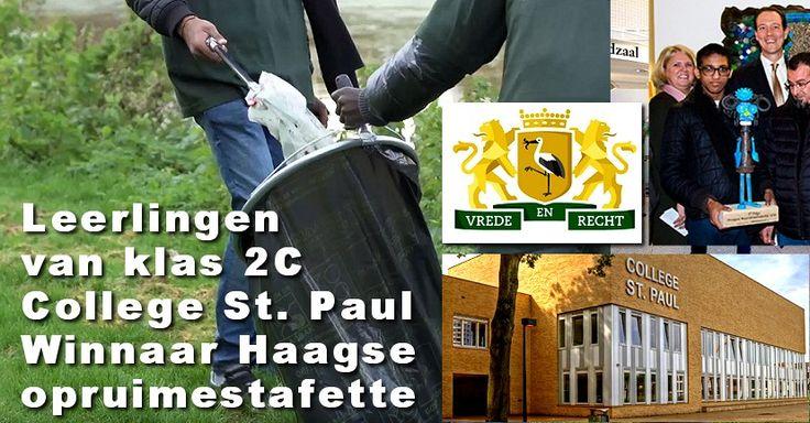 College St. Paul wint opruimchallenge - http://www.wijkmariahoeve.nl/college-st-paul-wint-opruimchallenge/