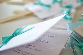 Something Tiffany Blue by MissBeckyB. | Wedding Blog: MY WEDDING: TABLEAU, GUESTBOOK, VENTAGLI, SCATOLE PORTARISO E SEGNAPOSTO TIFFANY BLUE FIRMATI LE CHIC ART