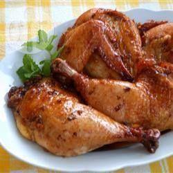Фото рецепта: Курица запеченная в соусе терияки