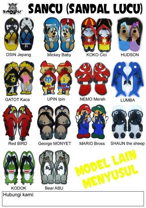 Kami adalah agen penjualan SANCU - Sandal Lucu yang ...