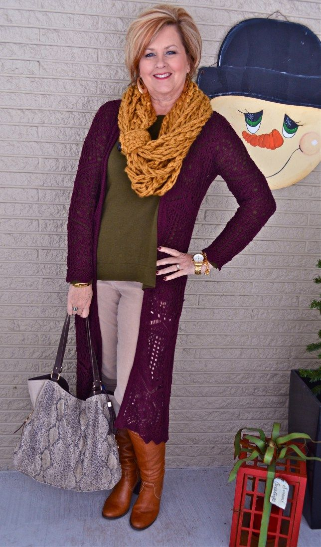 50 Is Not Old | Pick out an Outfit 1 Fashion over 40 for the everyday woman  Scarf + Unique = Spice Up An Outfit