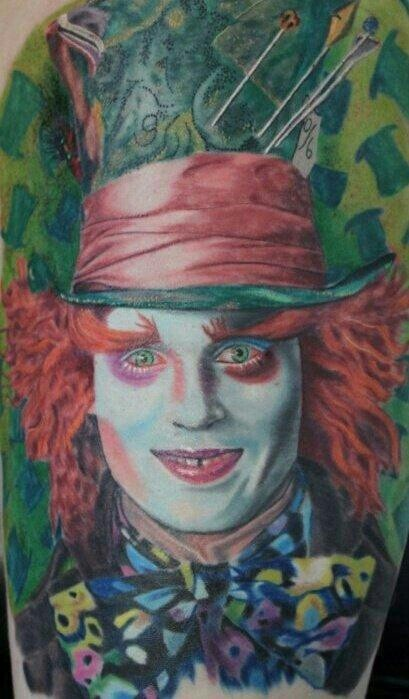 Mad Hatter Berbers Tattoo By Chad Roloson Tattoorolo In