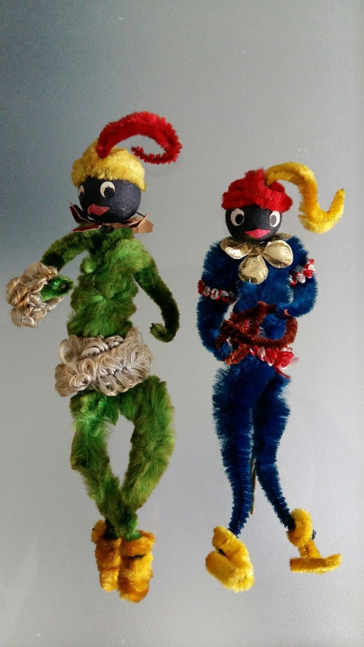 Sinterklaas etalage Zwarte Pietjes  decoratie
