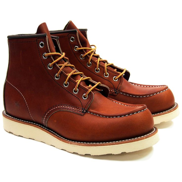 Red Wing Heritage Moc Toe Boots 875