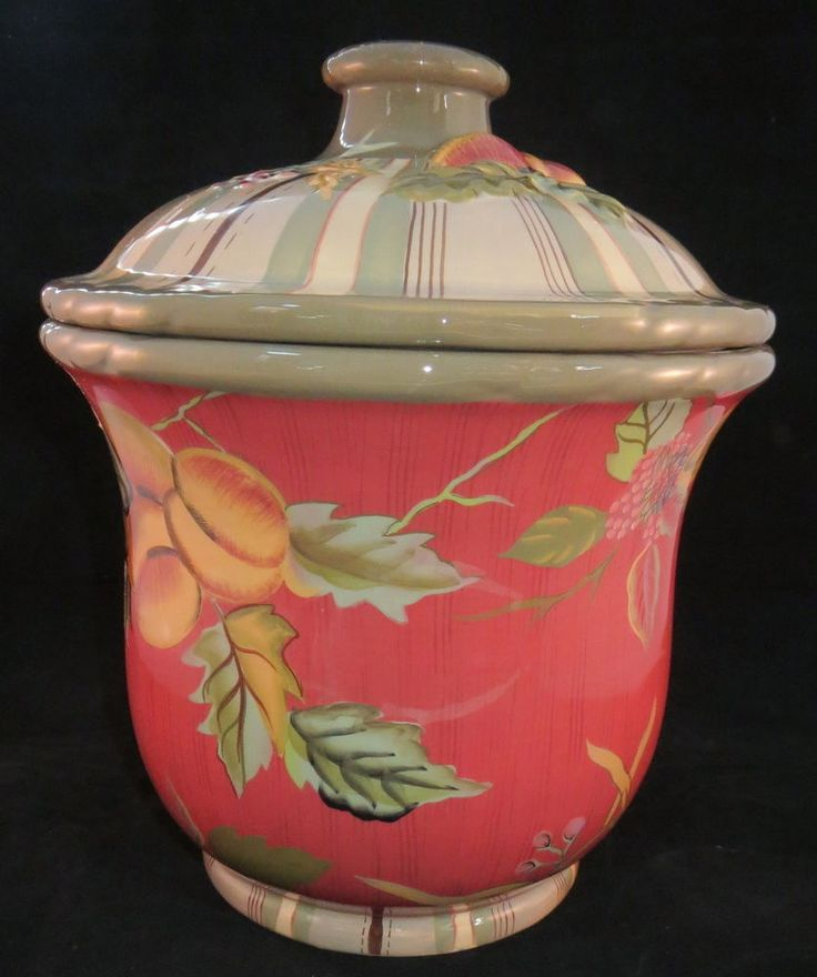 Tracy Porter Octavia Hill Collection Cookie Jar Canister