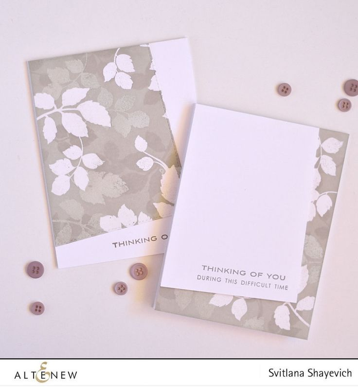 Card Making Ideas And Techniques Part - 30: Altenew U2022 Layered Embossing Resist. Video. Altenew CardsCreative CardsEmbossing  TechniquesSympathy ...