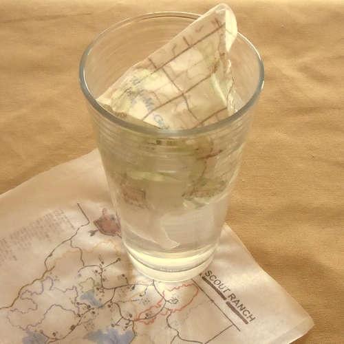 How To: Make light & waterproof maps - genius!