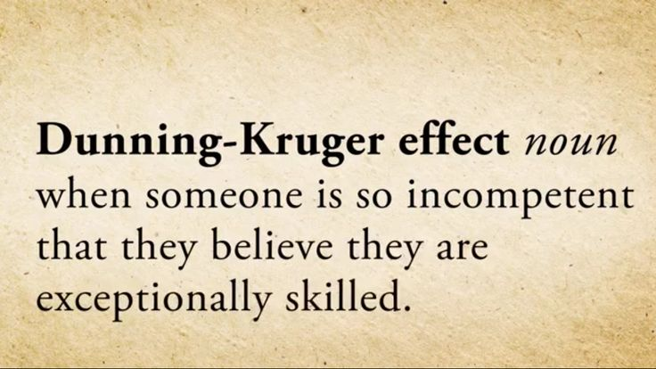 Dunning-Kruger Effect /// #Trump #bwhaha