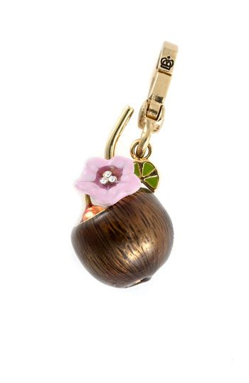 Juicy Couture Coconut Drink Charm | Nordstrom