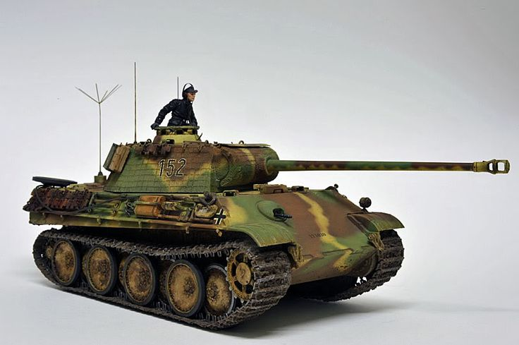 PANZER TRACTS 5-3 WW2 GERMAN PANZERKAMPFWAGEN V PANTHER Ausf. G Sd.Kfz.171 KwK L