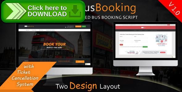 [ThemeForest]Free nulled download BusBooking - Online bus booking php script from http://zippyfile.download/f.php?id=39698 Tags: ecommerce, book my bus, bus booking, online bus booking, online ticket system, ticket booking, ticket system, tickets online, tours and travels, travel, travel booking, true bus booking, true bus online