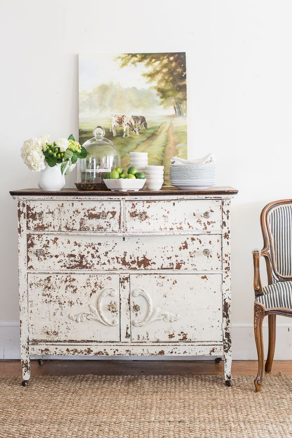how do you take your milk paint? chippy or not chippy | Miss Mustard Seeds Milk Paint