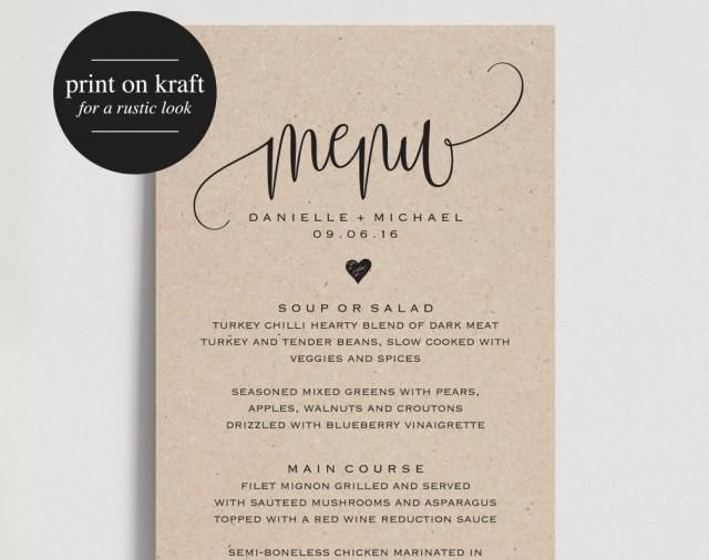 The 25+ best Menu pdf ideas on Pinterest Memos menu, Articles - dinner party menu template