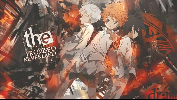 Emma norman ray | Neverland, Wallpaper pc anime, Anime ...
