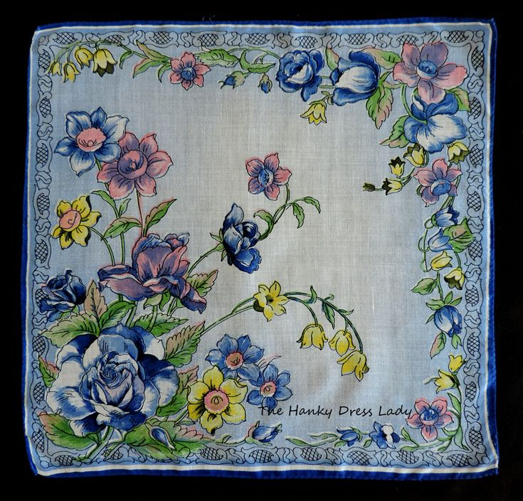 Pin by The Hanky Dress Lady on Birth Month Flower Hankies