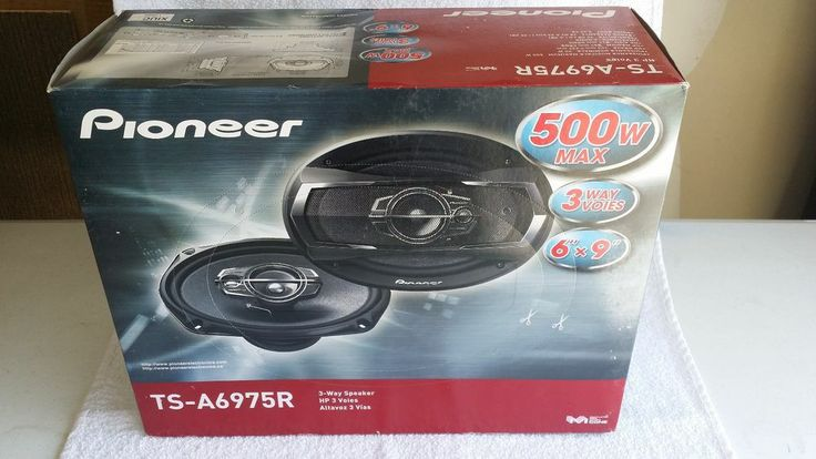 "Pioneer TSA6975R 6x9"" 500W 3 Way Full Range TS Car Audio Speakers #Pioneer"