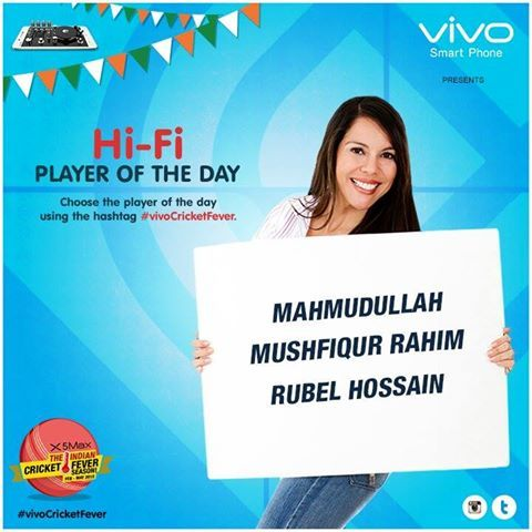 This is a great day for Bangladesh Cricket.  Who was the shining star of this match? #vivoCricketFever.