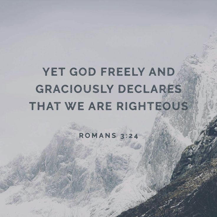 We are righteous by His blood and Grace.  Not by anything we accomplish.