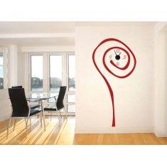 Relojes de vinilo originales para decorar tus paredes, además de realizar la función práctica de ser relojes de pared.
