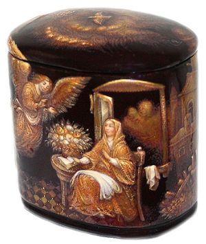 Title: Annunciation  Artist: Korchagin Alexey  Size: 5x3.5x5  Size (inches): 2x1.25x2  Price: $2250 $1700
