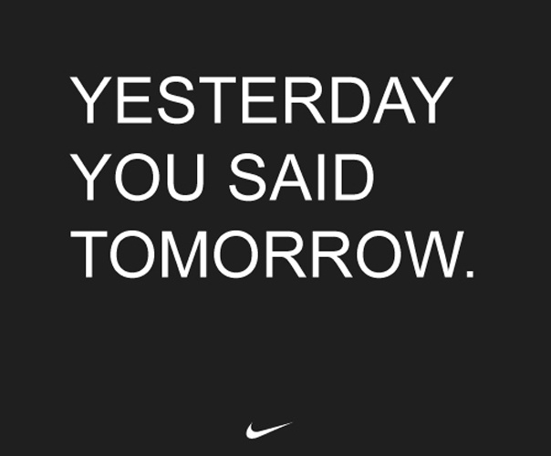 Just do it!!!