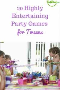 20 Highly Entertaining Party Games for Tweens