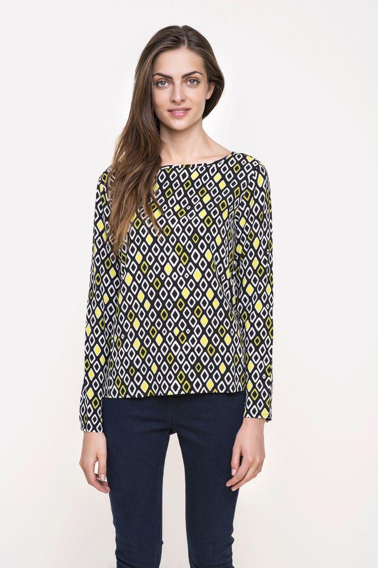 bluzka damska tkaninowa  #tatuum #patterns