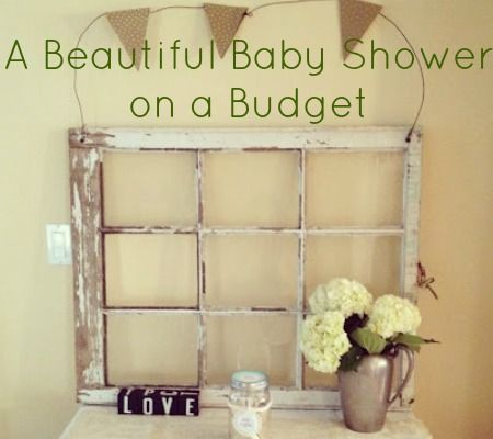 Ideas For Creating a Beautiful Baby Shower on a Budget