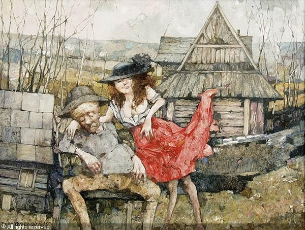 Jerzy Duda-Gracz, 1997, WIOSNA sold by Agra-Art, Warszawa, on Sunday, November 19, 2006