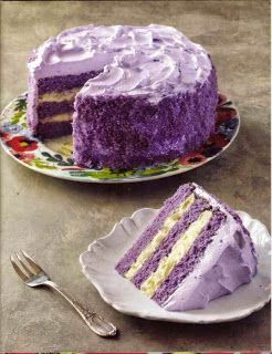 Resep bolu cake Ubi Ungu panggang