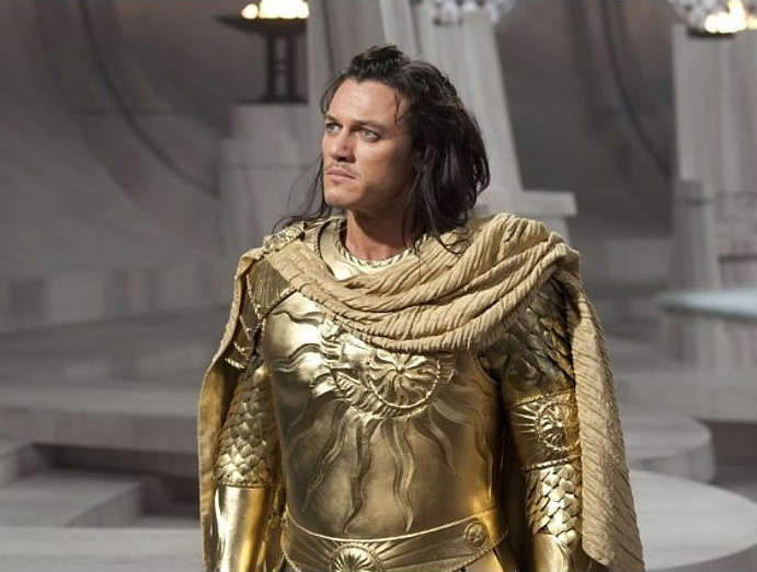 Luke Evans portraying the Sun God Apollo, from movie ...
