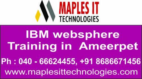 IBM WebSphere Admin training institute in Hyderabad http://maplesittechnologies.com/ibmwebsphereapplication.html