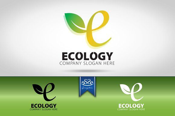 Ecology Logo by eSSeGraphic on @creativemarket
